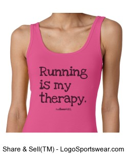 Running is my Therapy Design Zoom